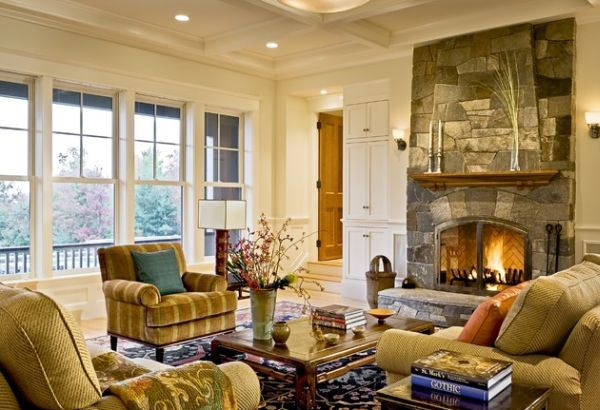 125 Stone Fireplace Ideas Add Some Ambience To Your Place